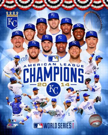 Kansas City Royals 2014 American League Champions Composite