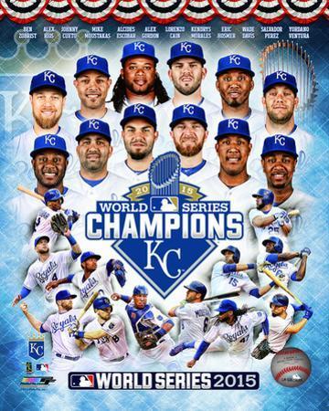 Kansas City Royals 2015 World Series Champions Composite