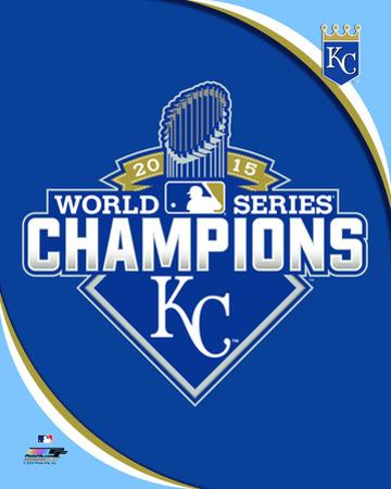 Kansas City Royals 2015 World Series Champions Logo