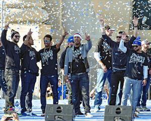 Kansas City Royals 2015 World Series Champions Parade