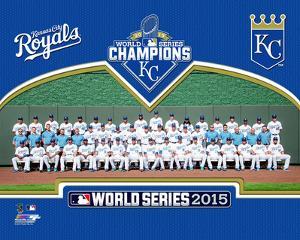 Kansas City Royals 2015 World Series Champions Team Sit Down