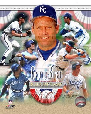 Kansas City Royals - George Brett Photo