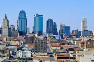 Kansas City skyline from Crown Center, MO