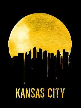 Kansas City Skyline Yellow