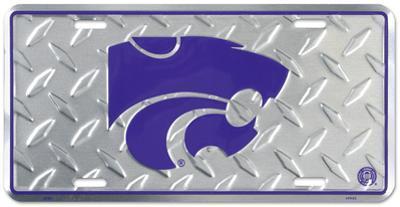 Kansas State Diamond License Plate