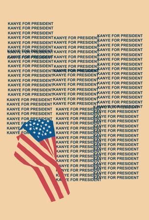 Kanye For Prez 2016 (Beige)