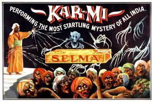 Kar-Mi Performing the Most Startling Mystery of All India