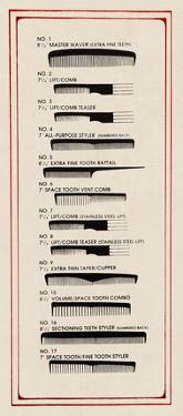 Barbershop Combs by Kara Smith