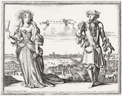 Londoners, 1690S by Karel Allard