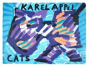 Cats by Karel Appel