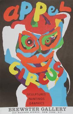 Cirque at Brewster Gallery by Karel Appel