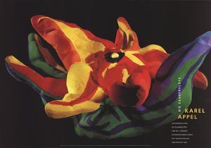 Die Zauberflote (Magic Flute), Flower by Karel Appel