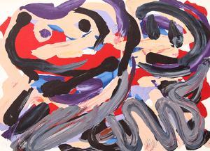 Happy Battle by Karel Appel