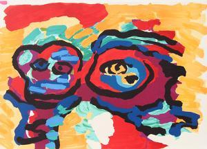 Mother and Little Boy by Karel Appel