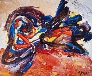 Oiseau by Karel Appel