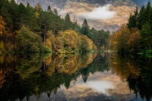 Autumn in Glencoe, Highlands, Scotland, United Kingdom, Europe by Karen Deakin