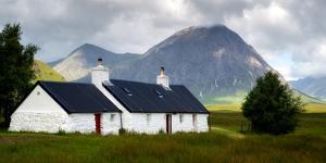 Blackrock Cottage, Glencoe, Scotland, United Kingdom by Karen Deakin