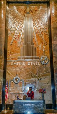 Empire State Building, New York City, New York, United States of America, North America by Karen Deakin