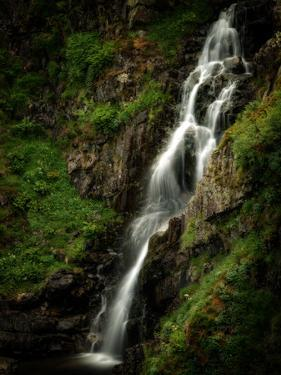 Grey Mare's Tail waterfall, Dumfries and Galloway, Scotland, United Kingdom by Karen Deakin