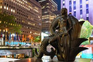 Rockerfeller Centre, New York City, United States of America, North America by Karen Deakin