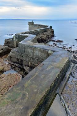 St. Monan's Pier, Fife, Scotland, United Kingdom, Europe by Karen Deakin