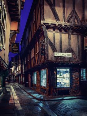 The Shambles, York, England by Karen Deakin