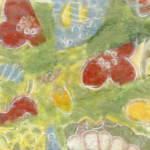 Encaustic Whimsy I by Karen Deans