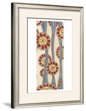 Flowing Flowers II by Karen Deans