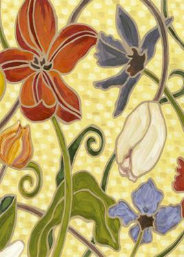 Mini Sunny Garden I (2-Up) by Karen Deans