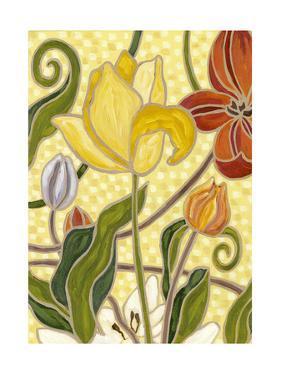Mini Sunny Garden II (2-Up) by Karen Deans