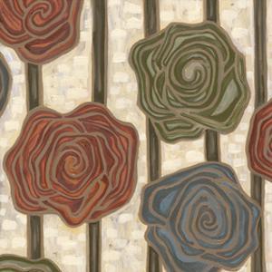 Mod Rosettes I by Karen Deans