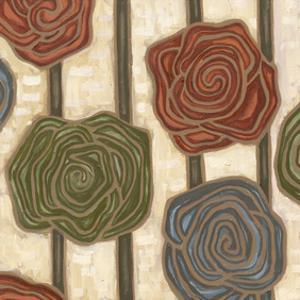 Mod Rosettes II by Karen Deans