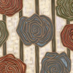 Mod Rosettes III by Karen Deans
