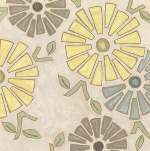 Pastel Pinwheels I by Karen Deans