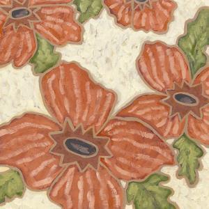 Persimmon Flora II by Karen Deans