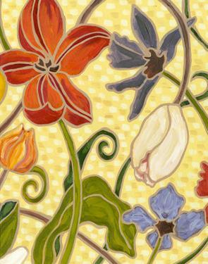 Sunny Garden I by Karen Deans