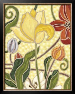 Sunny Garden II by Karen Deans