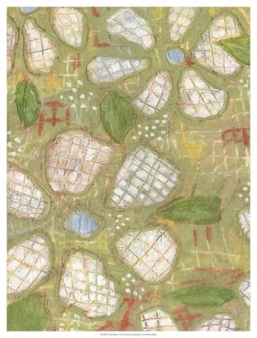 Textured Petals I by Karen Deans