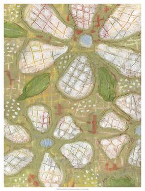 Textured Petals II by Karen Deans