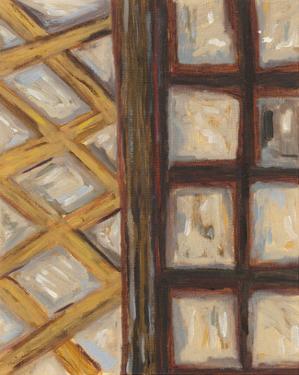 Textured Windows I by Karen Deans