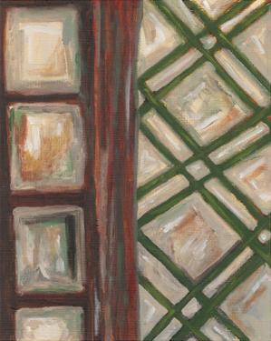 Textured Windows II by Karen Deans