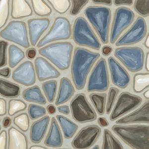 Tiled Petals I by Karen Deans