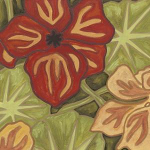 Vibrant Rainforest I by Karen Deans