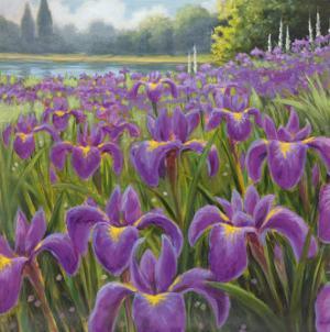 Gardenscape I by Karen Dupré