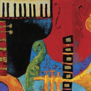 Juxta Jazz III by Karen Dupré