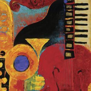 Juxta Jazz IV by Karen Dupré