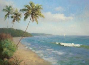 Palma de la Playa by Karen Dupré