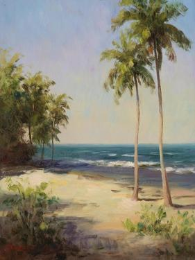 Palms On The Beach II by Karen Dupré
