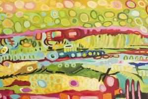 Abstract Bohemian by Karen  Fields