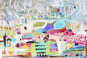 Abstract Clouds by Karen  Fields